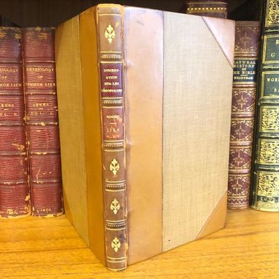 Geneve , 1784. First Edition. Hardcover. Octavo, , 175, pages; VG; bound in 3/4 brown calf, brown cl...