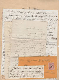 Small archive of Civil War letters written to a wounded member of the 39th New York Volunteer Infantry Regimen (The Garibaldi Guard) along with the soldier's discharge certificate