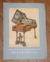 Bulletin of the Metropolitan Museum of Art. May, 1954