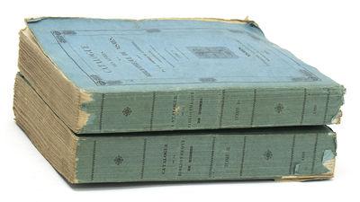 Nismes: Typographie Ballivet et Fabre; Imprimerie Clavel-Ballivet, 1861. 3 vols. 8vo. Original blue ...