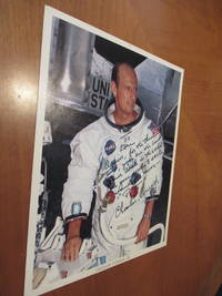 "Original  NASA Color Photograph Inscribed by Gemini 5 and Gemini 11 and Apollo 12 Astronaut Charles ""Pete"" Conrad"