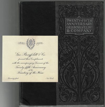 : Geo. Borgfeldt & Co, 1905. Hardcover. Very good. pp, extensively illustrated with portraits and vi...