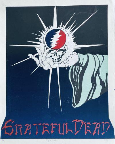 "Grateful Dead Serigraph: ""Original Dead"""