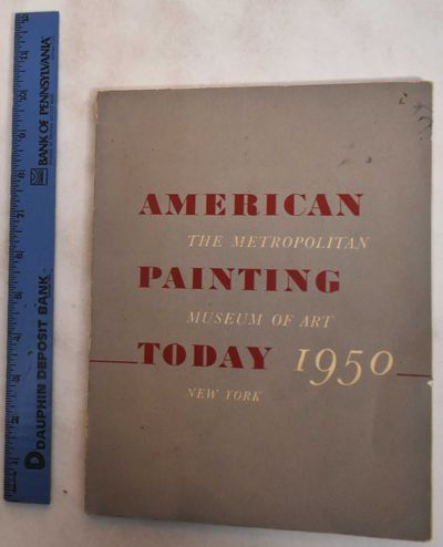 New York: Metropolitan Museum of Art, 1950. Softcover. VG/G+, covers show normal wear, some marking ...