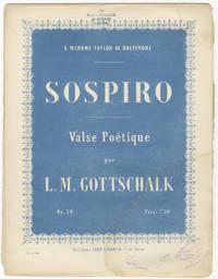 [D-142; Op. 24]. Sospiro Valse Poétique ... Prix: 7f. 50c