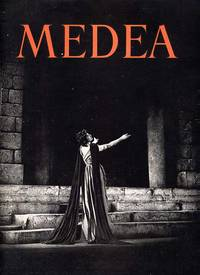 Small Handwritten Note from Judith Anderson to Conrad Aiken & Beautiful Large Souvenir Program for Medea