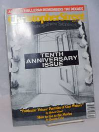 image of Christopher Street: vol. 11, #1, whole issue #121, March 1988; Andrew Holleran on the Decade