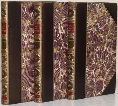 Philadelphia: J. B. Lippincott Company, 1893. Half Leather. Near Fine binding. Selected works by ten...