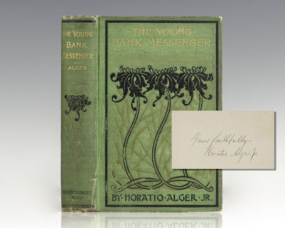 Philadelphia: Henry T. Coates & Co, 1898. First edition of Alger's classic novel. Octavo, original i...