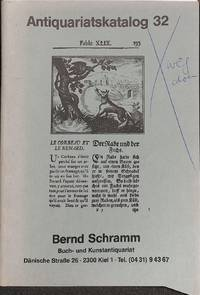 Katalog 32/n.d.: Wertvolle Bücher, Graphik.
