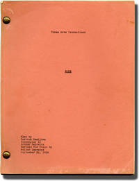 Rope (Original script for an unproduced 1956 play)