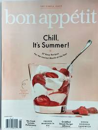 BON APPETIT Magazine - August 2019 - CHILL, IT'S SUMMER