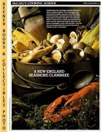 image of McCall's Cooking School Recipe Card: Fish, Seafood 32 - New England  Clambake : Replacement McCall's Recipage or Recipe Card For 3-Ring Binders  : McCall's Cooking School Cookbook Series