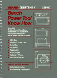 Sears/Craftsman Bench Power Tool Know How