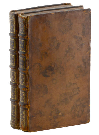 Londres : Chez Nourse, 1751. First edition in French.. Joints rather rubbed but sound; some light we...