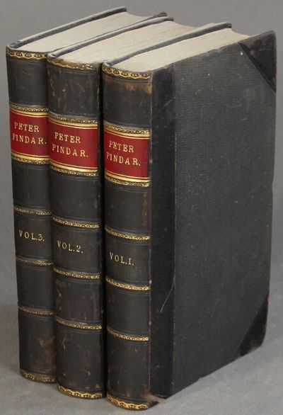 London: John Walker, 1794. 3 volumes, 8vo, pp. 444, ; 487, ; 423 ; engraved title pages, frontispiec...