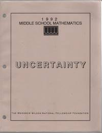 Uncertainty [Probability and Statistics]: a Middle School Curriculum Module