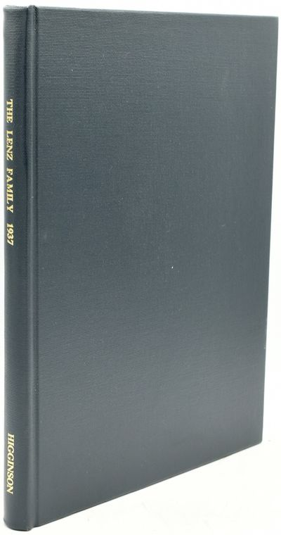 Salem, Massachusetts: Higginson Book Company, 1990. Facsimile Reprint. Hard Cover. Near Fine binding...