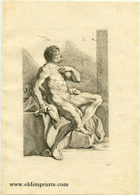Untitled male nude study