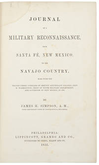 Journal of a Military Reconnaissance, from Santa Fe, New Mexico, to the Navajo Country..