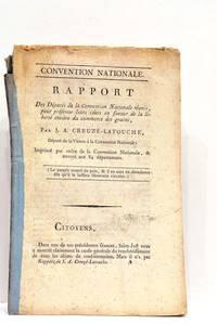 Rapport des Députés de la Convention Nationale réunis pour présenter...