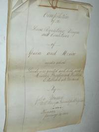 image of Manuscript: Compilation of the Laws, Regulations, Usages and Conditions of Spain and Mexico Under Which Lands Were Granted and Held and Missions, Presidios and Pueblos Established and Governed