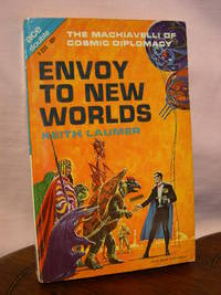 ENVOY TO NEW WORLDS, bound with FLIGHT FROM YESTERDAY