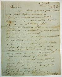 AUTOGRAPH LETTER SIGNED FROM HD. QTRS FORCES MIDDLE TENN. NOV. 23RD [1862]. LT. COL. BUCKNER, GENERAL JOHN BRECKINRIDGE'S AAG, URGES BRIGADIER GENERAL AND CHIEF OF CAVALRY JOSEPH WHEELER TO SO ARRANGE IT THAT COURIERS MAY ARRIVE EITHER BEFORE 12 M. OR AFTER DAY LIGHT. WE ARE SO SITUATED THAT EVERY ONE IN THE HOUSE IS AROUSED BY ANY COURIER THAT ARRIVES IN THE NIGHT. OF COURSE WHEN PARTICULARLY IMPORTANT SEND THEM AT ANY HOUR.