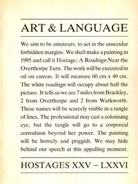 Art and Language: Hostages XXV - LXXVI