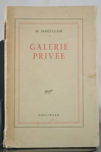 Galerie Privee [Inscribed to Raymond Mortimer]
