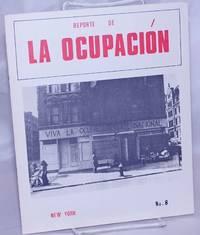 image of Reporte de La Ocupación. No. 8 (July 1974)