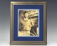 Charles Lindbergh Signed Photograph.