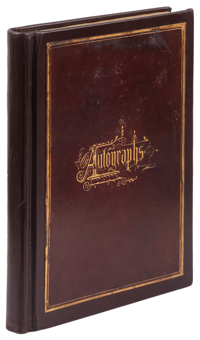 8vo. Expertly rebound in brown leather, preserved original gilt leather title; pages bear mild soili...