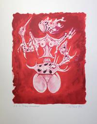 Lithographie originale signée pour l'affiche du Salon de mai 1976. Joint : l'affiche imprimée.