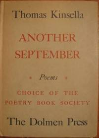 ANOTHER SEPTEMBER by  Thomas Kinsella - First edition - 1958 - from First Folio (SKU: 9492)