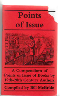 image of Points of Issue: A Compendium of Points of Issue of Books by 19th-20th Century Authors