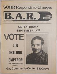 image of B.A.R. Bay Area Reporter: vol. 7,  #19, September 15, 1977; SOHR responds to Charges