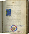 View Image 1 of 6 for PLUTARCH, Life of Quintus Sertorius in the Latin translation by LEONARDO BRUNI; DONATO ACCIAIUOLI, L... Inventory #TM 1063