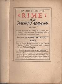 image of The Rime of the Ancient Mariner (signed by Hubbard)