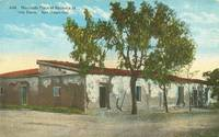 Marriage Place of Ramona at Old Town San Diego, California 1920 used Postcard