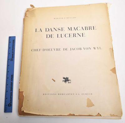 Zurich, Switzerland: Editions Morgarten, 1940. Softcover. Good. cover portfolio has chipped spine; s...