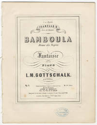 [D-13; Op. 2]. Bamboula Danse des Negres Fantaisie pour piano ... Pr. 1fl. 30 kr