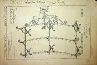 [ Original art, Design Patent ] DESIGN PATENT 19,179 Meat Rack