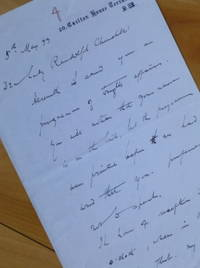 """image of Autograph Letter Signed, to """"Dear Lady Randolph Churchill."""""""