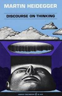 image of Discourse on Thinking (Torchbooks TB 1459) (Harper Perennial Modern Thought)