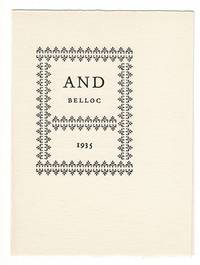 And Belloc