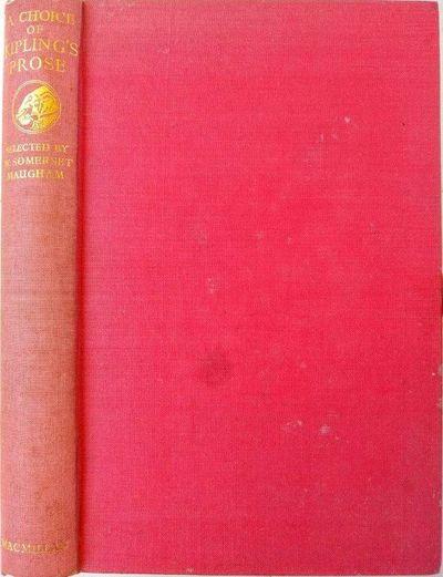 London:: Macmillan, 1952., 1952. 8vo. xxix, , 338 pp. Brick-red gilt-stamped cloth; lightly soiled. ...