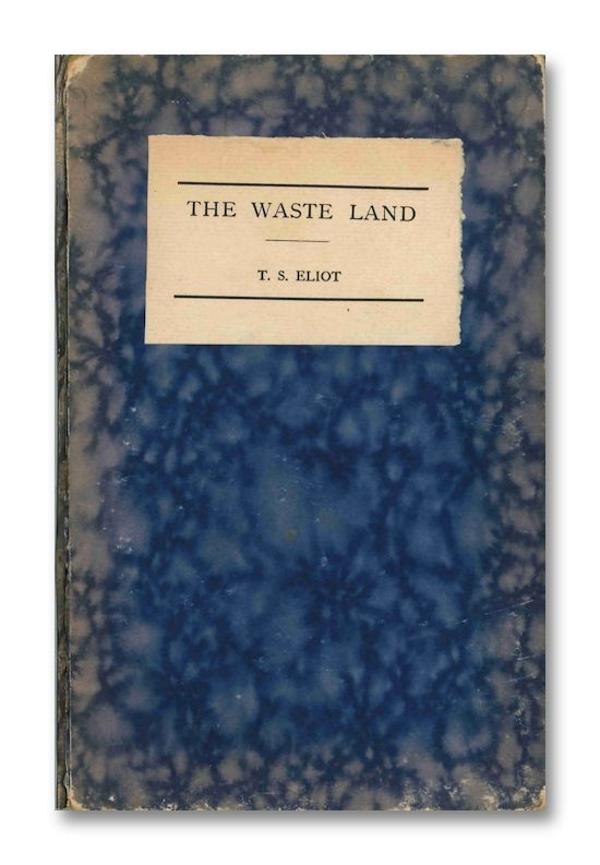 "t s eliots the waste land 2 essay ""the waste land"" by ts eliot essay sample ""the waste land"" by ts eliot can arguably be cited as his most influential work this poem demonstrates modernist literature and utilizes major themes of disillusionment and restoration."