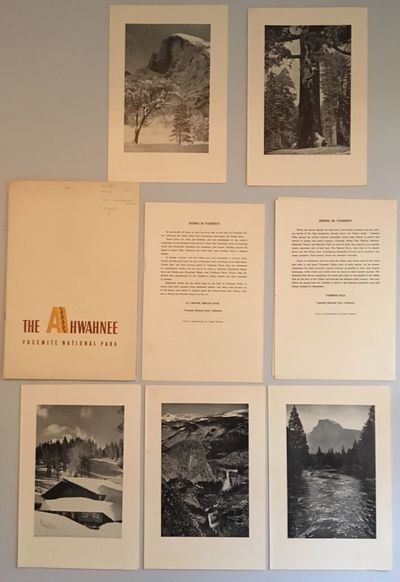 (Los Angeles, CA: Yosemite Park and Curry Co.), 1949. First edition, a promotional for the hotel. 8v...