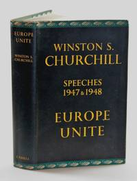 Europe Unite by Winston S. Churchill - First edition, only printing - 1950 - from Churchill Book Collector and Biblio.com